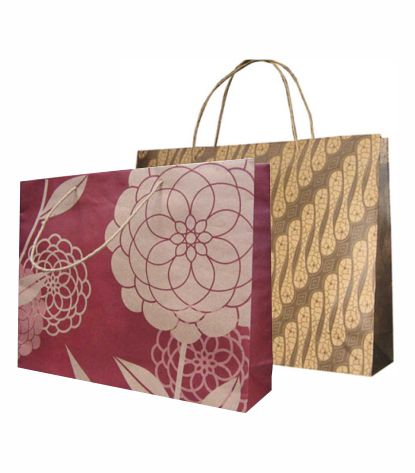 tas belanja tas kertas tas motif paper bag